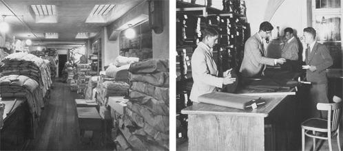 DaunenStep historie. De werkplaats en de winkel in vroeger tijden